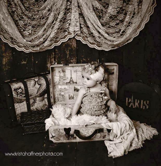 baby photos, 9 month girl photos, milestone photos, vintage baby photos