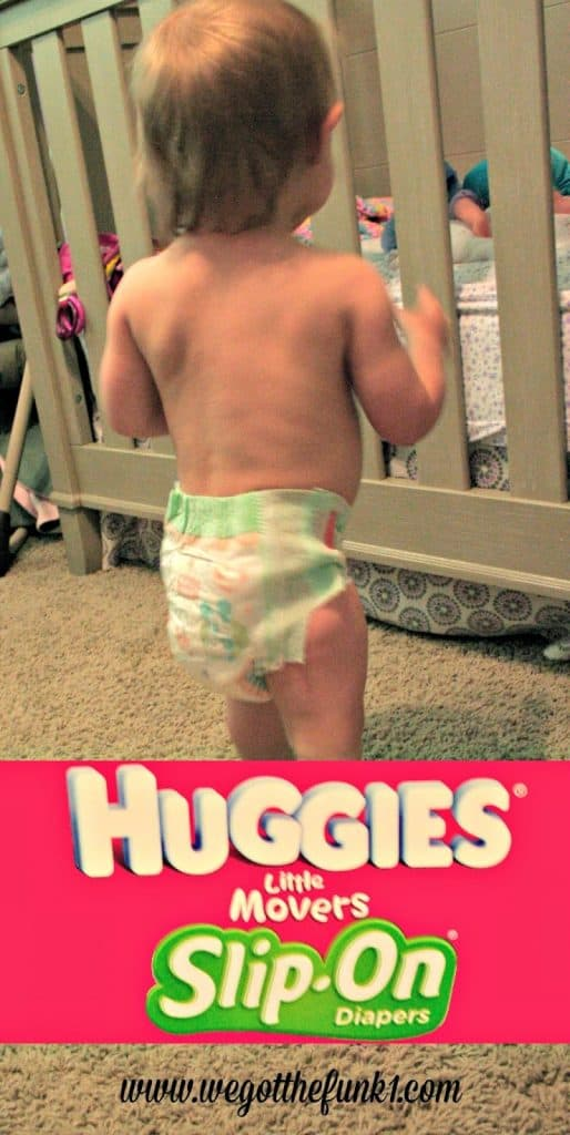 Huggies, Slip On Diapers, Little Movers,