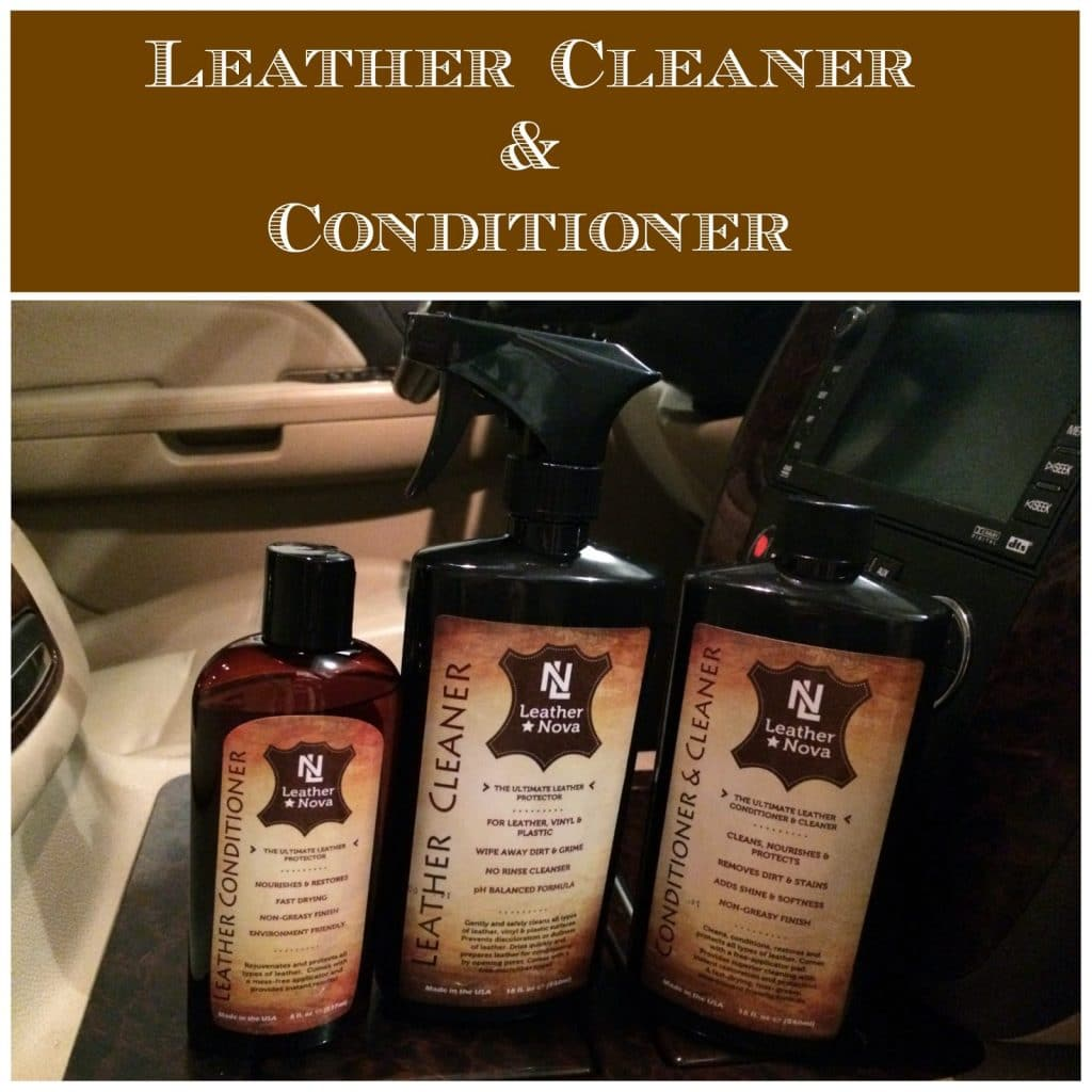 Leather Cleaner and Conditioner, Instanatural, Leather Nova