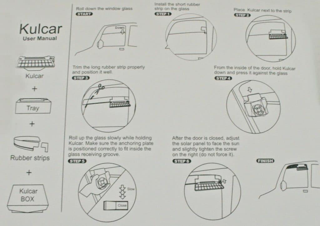 kulcar solar car cooling system