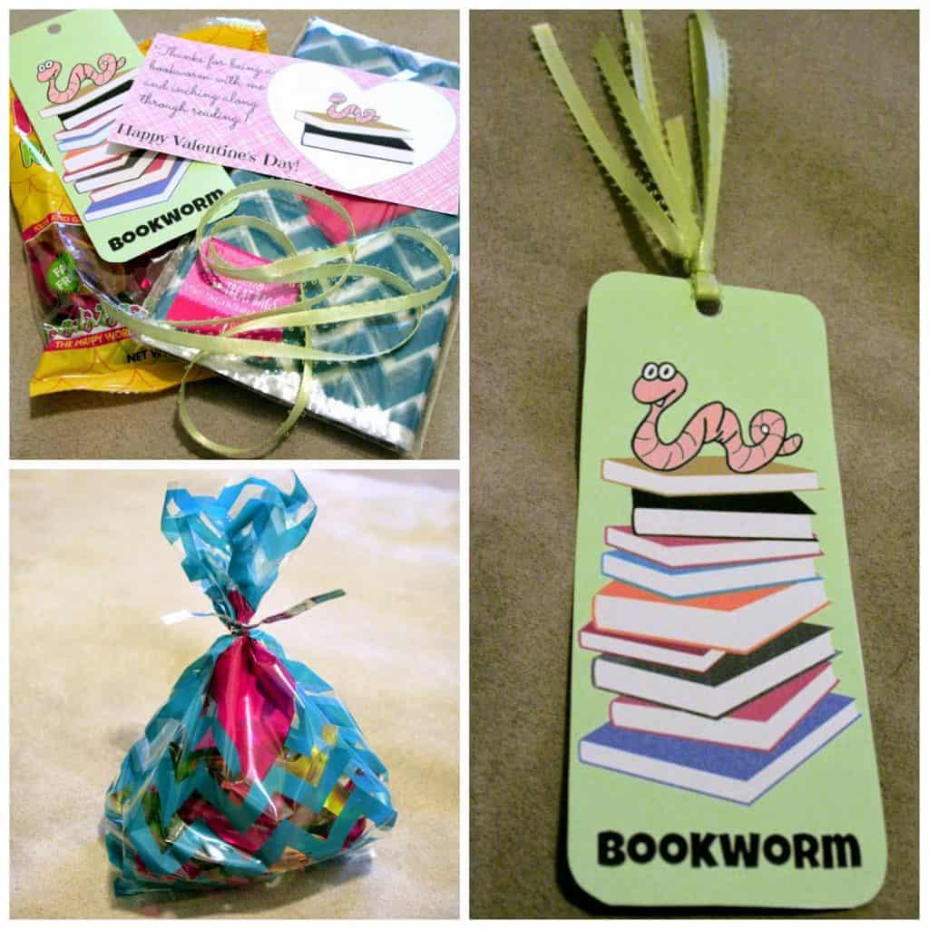 Valentines Day Bookmark, Printable Valentines cards, printable bookmark, preschool valentine ideas, Printable, bookworm