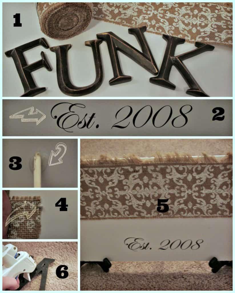 Family name plaque, DIY, Name crafts, name art