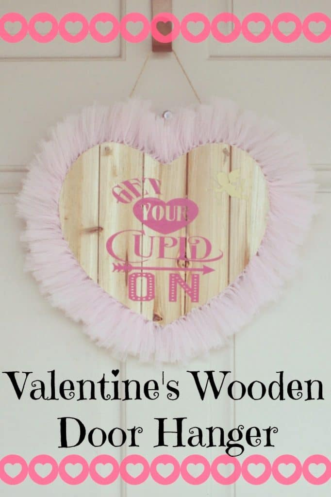 Valentines Door Hangers Wooden Heart Door Hangers Silhouette Vinyl On Wood Silhouette Wreath