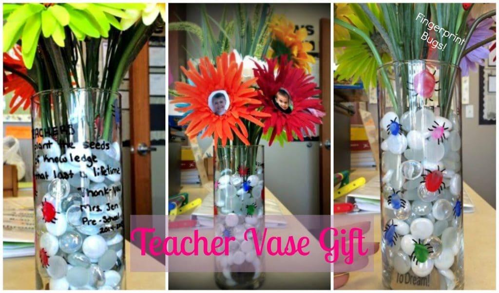 Teacher vase gift, teacher printable thank you note for preschoolers, preschool teacher questionnaire, Preschool thank you note.