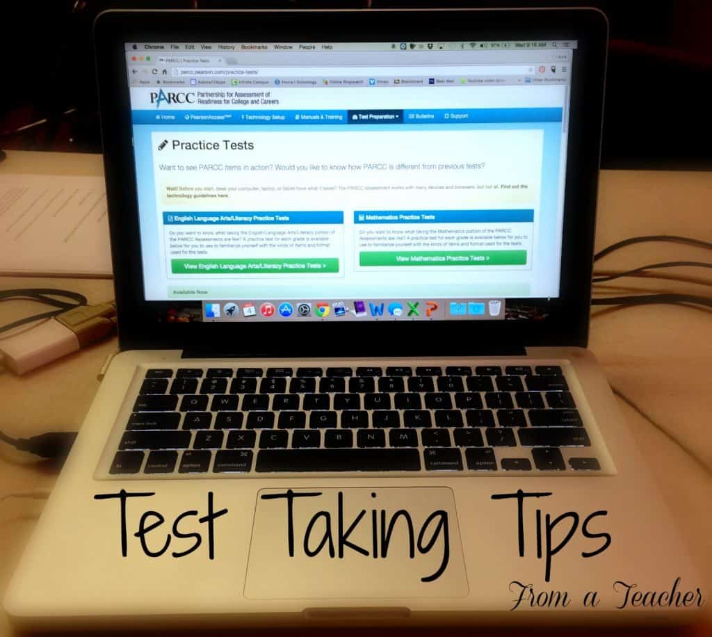 Simple State Testing Tips from a teacher, Unconventional test taking tips