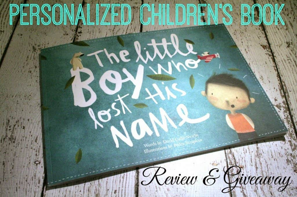 Lostmy.name book review, Lostmy.name giveaway, personalized children book
