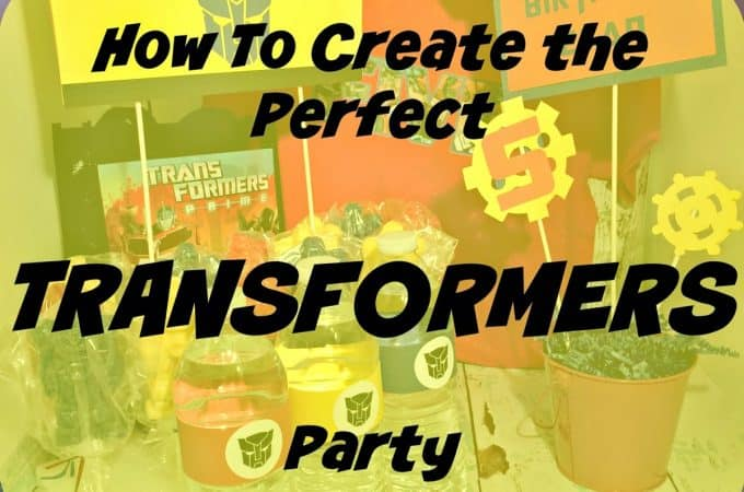 Transformer Roller Skating Party {Recap}