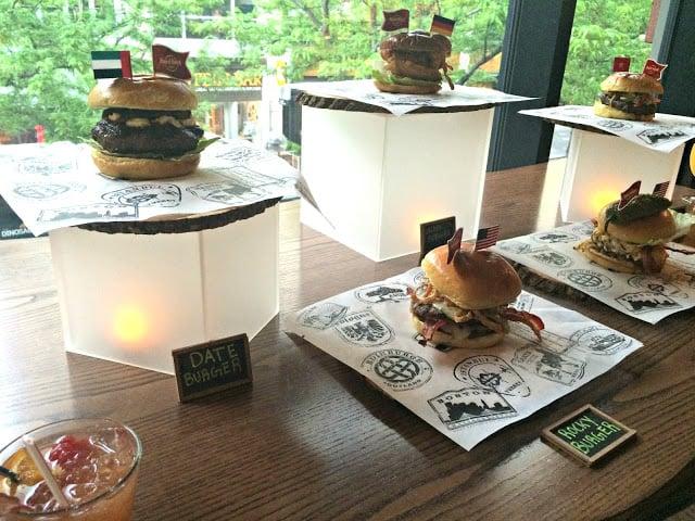Hard Rock Cafe New World Burger Tour Menu, This is Hardrock, Rocky Burger, Burgers from around the world