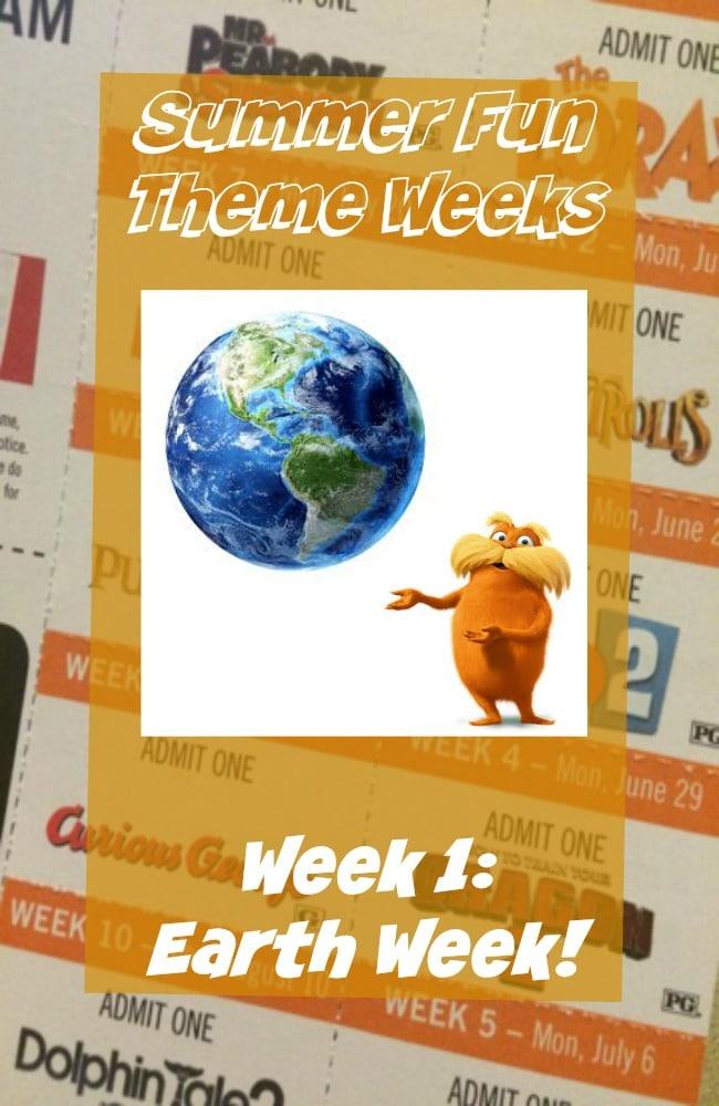 Summer Theme Weeks, Summer Schedule for Kids, Summer Activities on a budget.