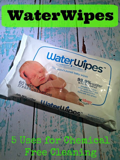 Chemical free cleaning tips, safe baby wipes, chemical free baby wipes, water based baby wipes, waterwipes