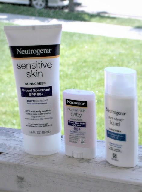 #ChooseSkinHealth, Tips for Sun Safety, Skin Sensitivities, Neutrogena