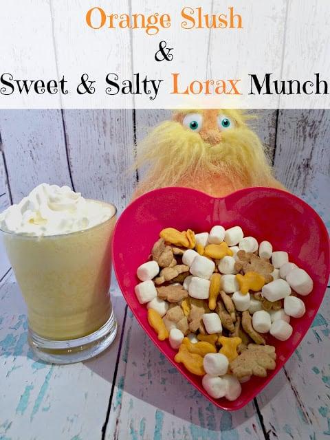 Summer Theme Weeks, Earth Week, Recap, Activities, Lorax Food recipe, Orange slush recipe