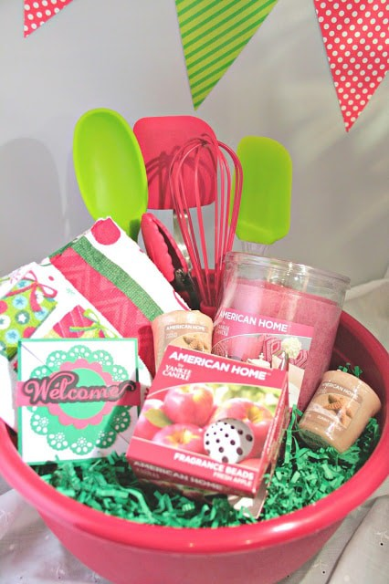 Holiday Welcome Basket, Adult Goodie Bags, American Home™ by Yankee Candle®, #LoveAmericanHome, Silhouette card designs