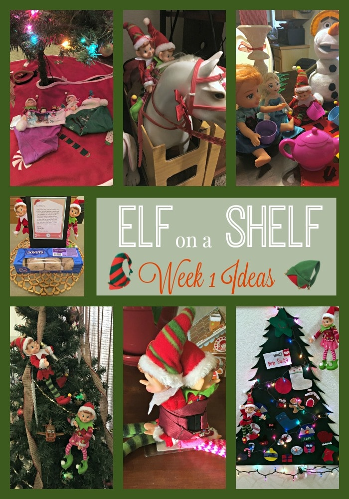 picture regarding Elf on the Shelf Printable known as Elf upon the Shelf 7 days 1 with #Printable - We Bought The Funk