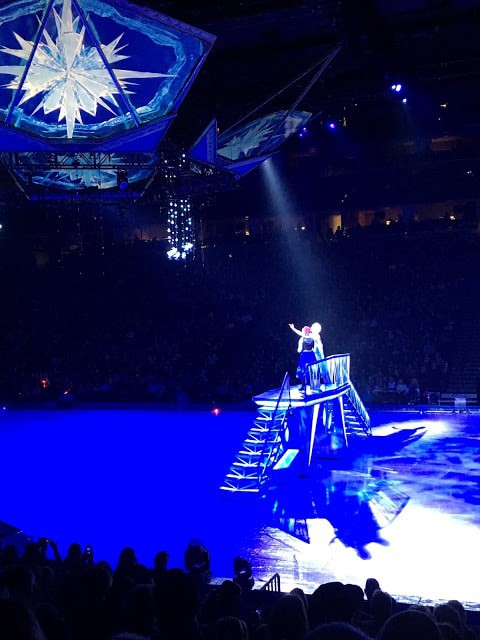 Frozen on Ice Review, Disney on Ice, Frozen on Ice Denver, Frozen On ice pictures