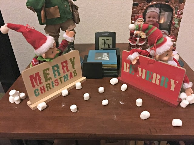 Elf on the Shelf ideas, cute and easy Elf on the Shelf ideas, Elf on a Shelf ideas for little kids, Elf on a shelf ideas for toddlers, Easy Elf on the shelf activities