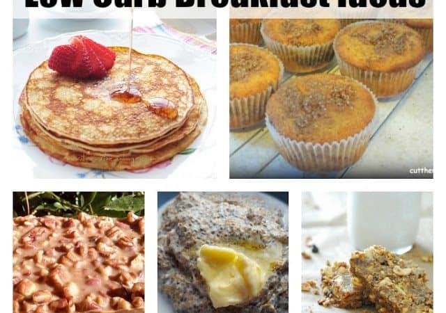 Diet update with #LCHF Breakfast Recipe Round Up!