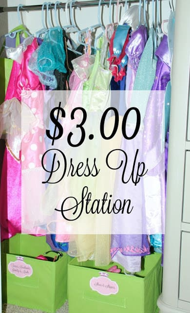 Low Cost Dress Up Station Project