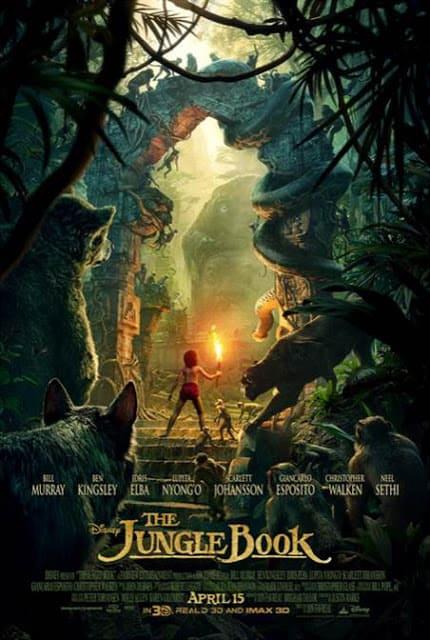 Finding Dory Trailer, Jungle Book Trailer, Pete's Dragon Trailer, Jungle Book Activity Sheets