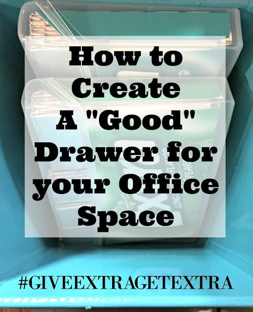 #GIVEEXTRAGETEXTRA, #Walmart, #ad, How to create a snack drawer in your shared workspace, ideas to pay it forward, How to make a workspace a happy space