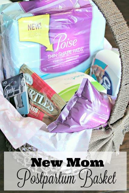 Postpartum Care Basket For The New Mom Poiseatkroger Ad