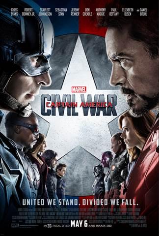 #DisneyAlice, #CaptainAmericaCivilWar, Captain America trailer, Alice through the looking glass teaser