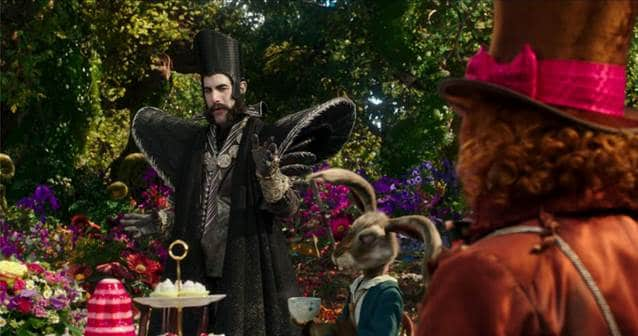 Alice Through the Looking Glass Review, Alice Through the Looking Glass Pictures, Pink Alice through the looking glass.