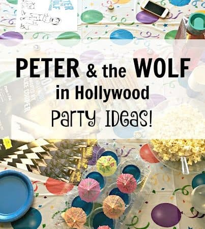 Peter and the Wolf Party Ideas #PeterandtheWolfApp