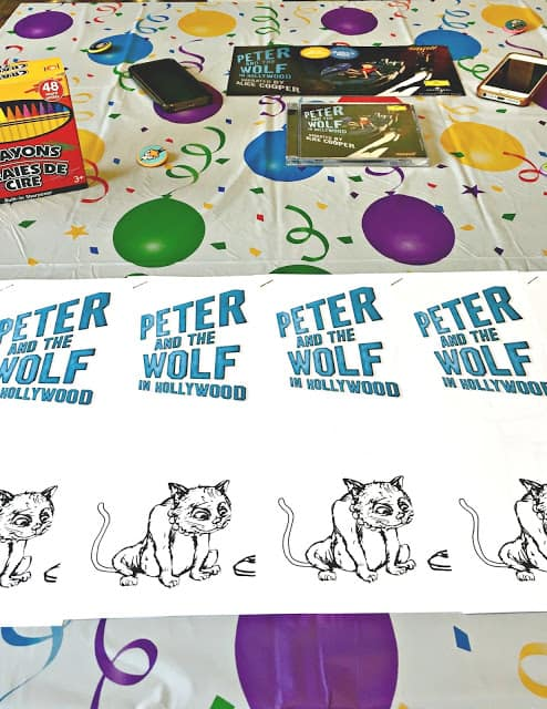 #PeterandtheWolfApp, Peter and the Wolf Party Ideas, Peter and the Wolf in Hollywood Party, Peter and the Wolf home party, Peter and the Wolf snacks, Peter and the Wolf decor