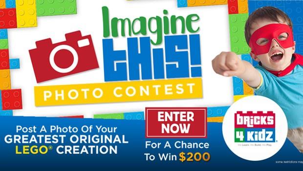 Lego Imagine This Contest, #ImagineThis, Lego contest, Bricks 4 Kids Contest