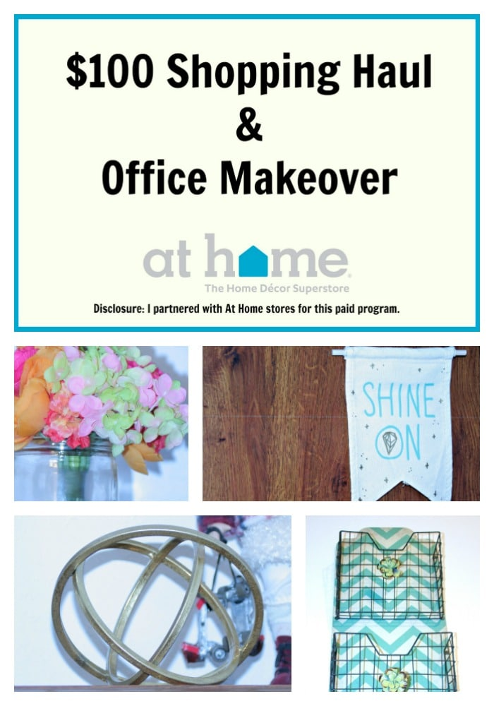 #AtHomeStores, Office Makeover, Campus Collection, Bright Office Makeover, Gold office Makeover,