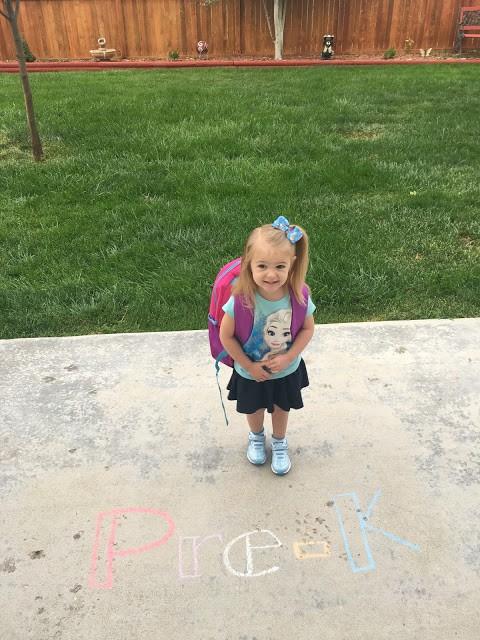 Preschool ideas, chalk boards, first day of school photos