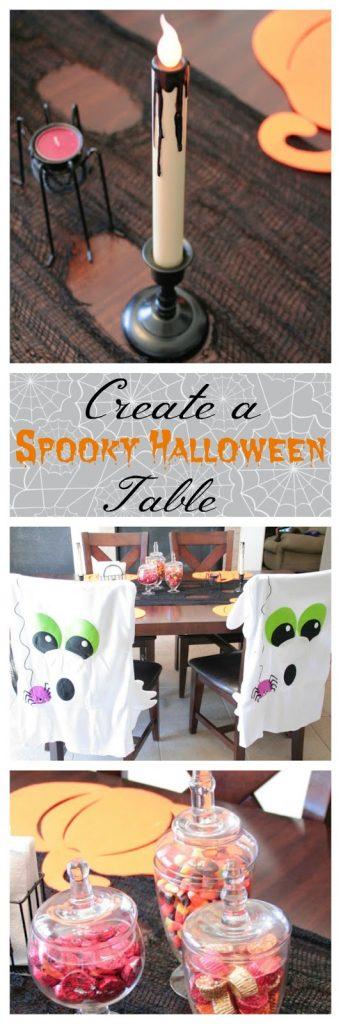 Spooky Halloween Table