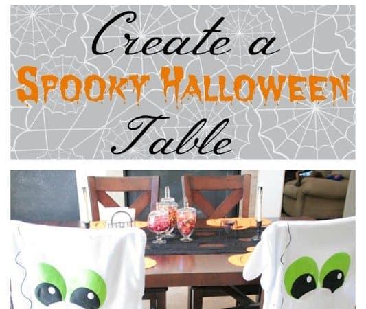Create a Simple Spooky Halloween Table