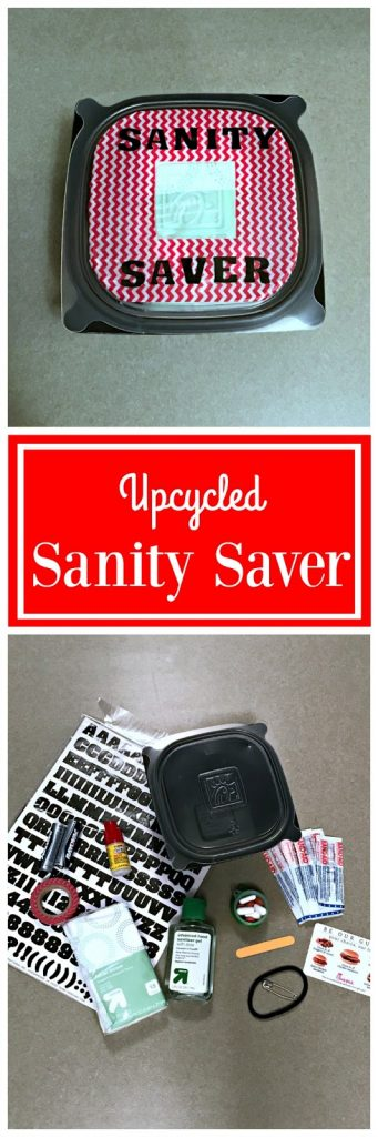 Sanity Saver, ChickFilA Chicken Tortilla Soup Upcycle, ChickFilA Container crafts, #ChickFilAMoms, Ideas for recycling plastic containers, Ideas for busy parents, compact containers