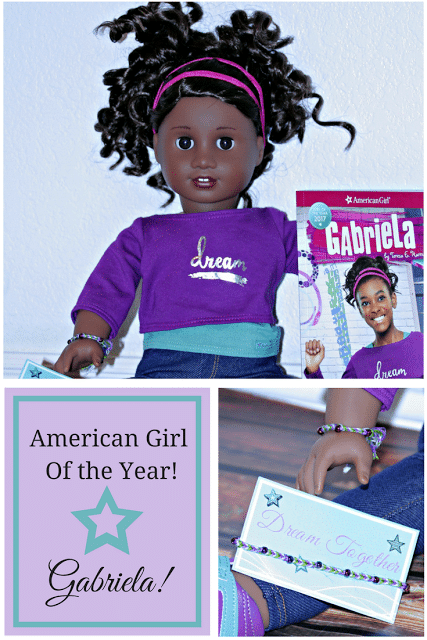 American Girl of the Year, Gabriela American Girl, Easy Friendship bracelet tutorial with pictures, Friendship bracelet for American girl, American girl crafts
