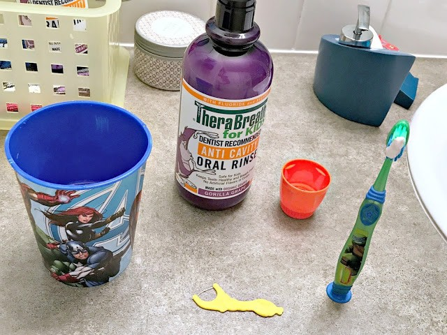 #TheraBreathKids, how to make bedtime easier, tricks for bedtime routines, how to incorporate dental health into bedtime, steps to a effective bedtime routine, TheraBreath BOGO coupon, TheraBreath Coupon May 2017, Dental health tips