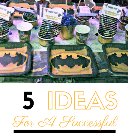 5 Ideas for a Successful LEGO Batman Birthday Party #OrientalTrading #Sponsored