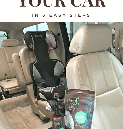 3 Steps to a Fresher Car and Cleaner Air #FreshWave #CareAboutYourAir #ad