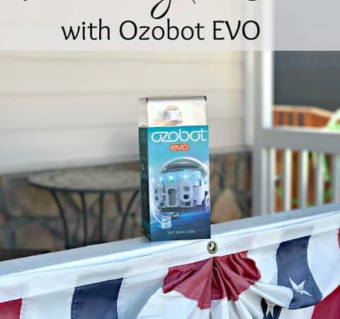 Learning to Code with Ozobot Evo #Ozonation #ad