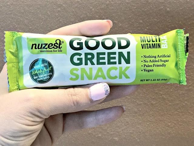Nuzest Good Green Bar Review, Nuzest products, Nuzest savings