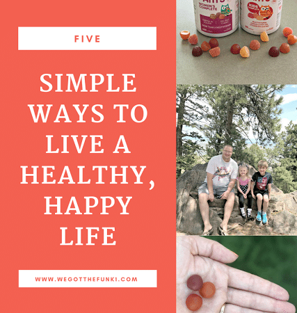 5 simple ways to live a healthy, happy life #SmartyPants [ad]