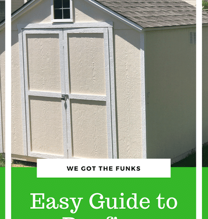 Easy Guide to Roofing #RoofedItMyself #ad