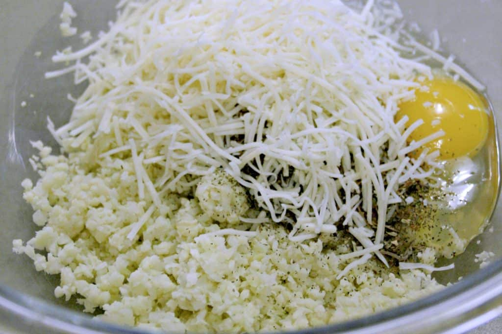 Cauliflower Pizza Crust Ingredients