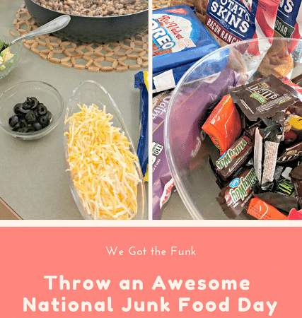 Throw and Awesome #NationalJunkFoodDay Family Fun Night and Win too!