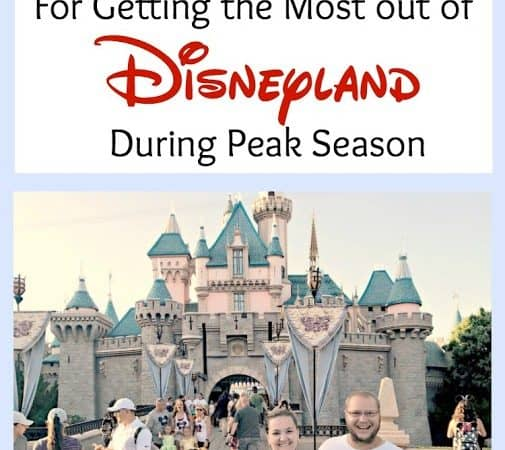 8 Genius Tips to get the MOST out of Disneyland during Peak Season