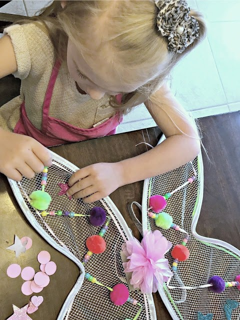 How to encourage imaginative play, tips for imagination, how to help you kids learn to play on their own, make it creative sets, DIY Fairy wing sets, Wizard costume, affordable wizard costume, Great Pretenders giveaway 2017