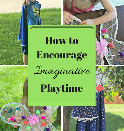 How to Encourage Imaginative Playtime #Giveaway