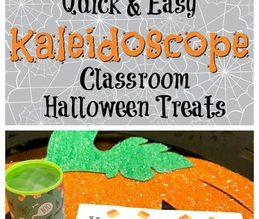 Quick & Easy Kaleidoscope Classroom Halloween Treat