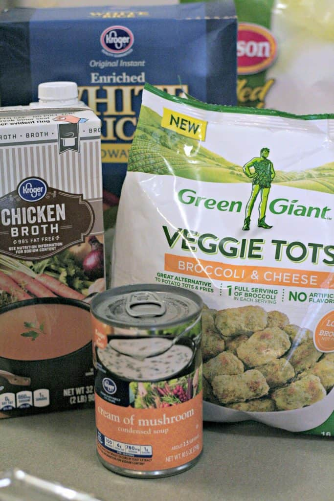 Broccoli tot casserole ingredients